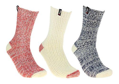 Pajar Women's Winter Boot Socks, 3-Pack