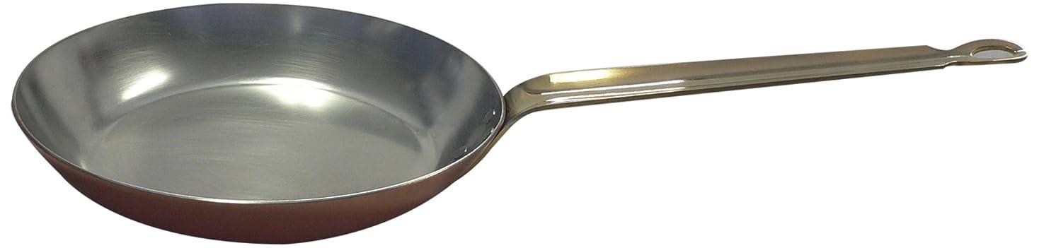 。ベーコンプライバシー丸新銅器 銅製 フライパン 24cm