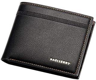 Baellery Classic Bifold wallets For Men,Leather,Black