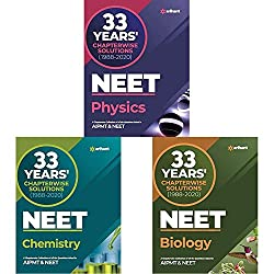 MTG 33 Years NEET Chapter-wise Solved Paper PDF Free Download