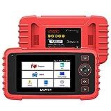 LAUNCH CRP129X OBD2故障診断機 スキャンツール AndroidベースCRP129からアップグレード Wi - Fiで自動アップデート 日本語直接変更可能 オイルリセット/EPB/SAS/TPMS/スロットルサービスなど4リセットサービス機能付,ABS/SRS/AT/エンジンに4システム診断 USB充電 AutoVINスキャン