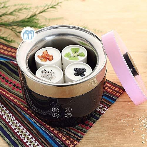 YILIAN Macchina for Yogurt Greco con Display - Contenitori di stoccaggio gratuiti con Coperchio