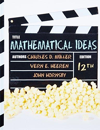 Mathematical Ideas (12th Edition)