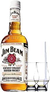 Jim Beam Bourbon Whisky 1,5 Liter  2 Glencairn Gläser  Einwegpipette 1 Stück