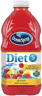 Ocean Spray Diet Juice Drink, Cran-Pineapple, 64 Ounce Bottle