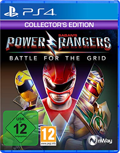Power Rangers Battle for the Grid - Collector\'s Edition - [Playstation 4]