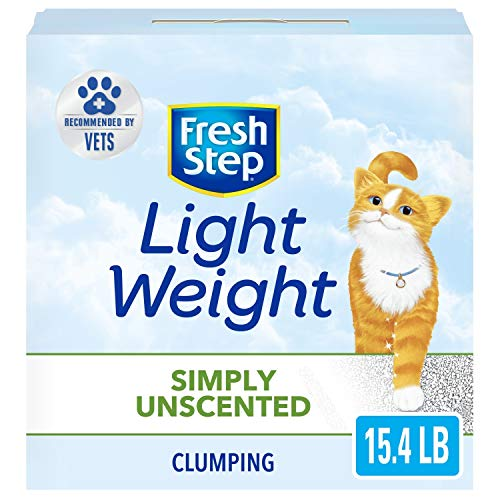Fresh Step Light Weight Simply Unscented Clumping Clay Cat Litter