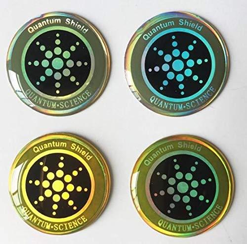 Anti-Radiation Sticker Cellphone EMF Electromagnetic Shield Quantum Health Wellness