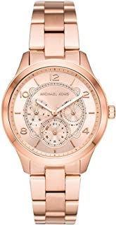 Michael Kors Women's MK6589 Chronograph Quartz Rose Gold Watch