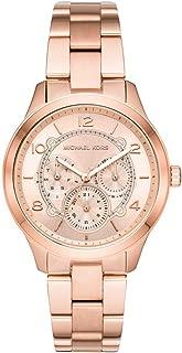 Michael Kors Women's MK6589 Chronograph Quartz Rose Gold Watch