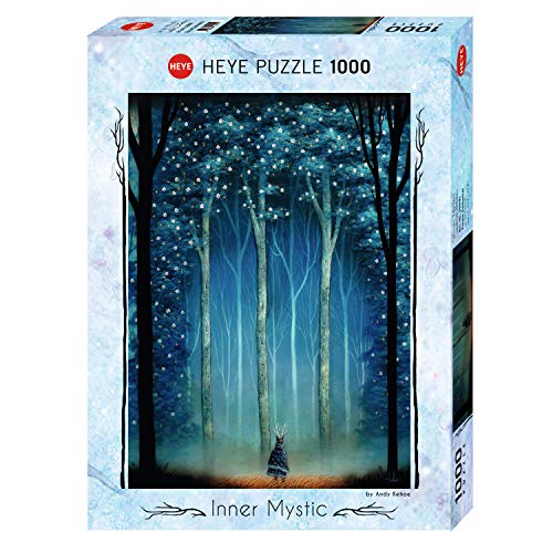 Heye HY29881 Puzzle Mistico Interiore, 1000 Pc-Forest Cattedrale