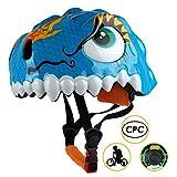 Shinmax Kids Bike Helmet, 3D Cartoon Dinosaur Toddler Helmet CPC&CE Certified Dragon Children Multi-Sport Infant Safety Helmet Adjustable for Boys/Girls Riding/Cycling Skating Scooter