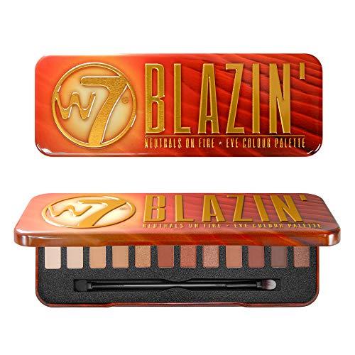 W7 Blazin' Neutral on Fire Palette di 12 Ombretti, 15.6 g