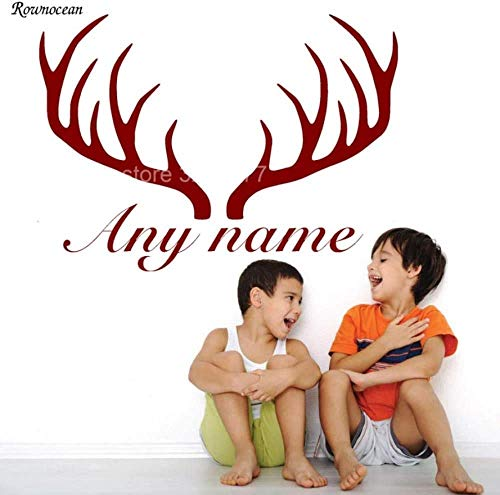 Nombre personalizado amplificador;Deer Antlers Rack