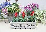 Jardineras de madera personalizables para jardín, macetas de jardín cuadradas rectangulares