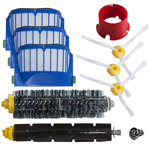 Kit d'entretien pour iRobot Roomba avec brosses et filtres - série 600 620 630 650 660 - SchwabMarken