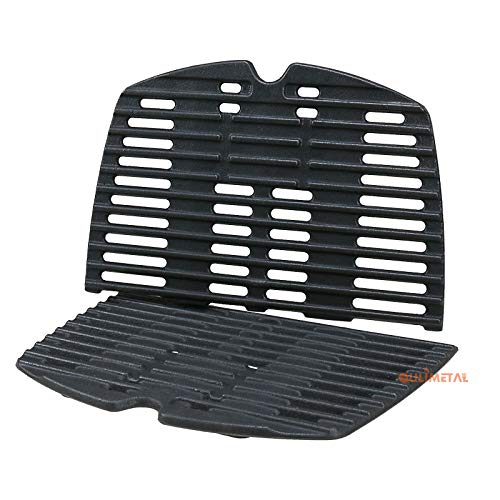 QuliMetal 7644 Cooking Grates for Weber Q100, Q1000 Series, Q1200, Q1400 Gas Grill