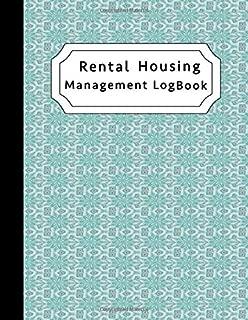 Rental Housing Management Log Book: Property Record-Keeping Journal