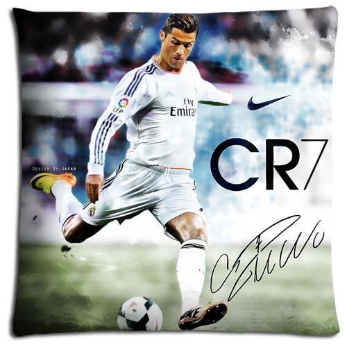 Funda de cojín de Cristiano Ronaldo - 55cm x 55cm