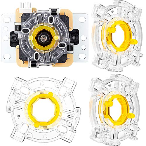4 Pieces GT-Y Octagonal Restrictor Gate 8 Ways Restrictor Plate for JLF Joysticks