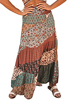 Best long tiered skirts Reviews