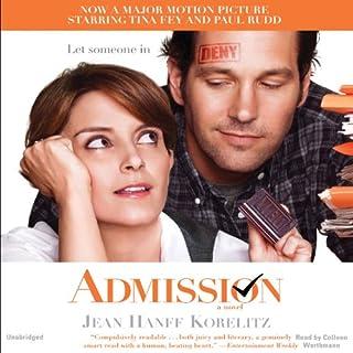 Admission audiobook cover art