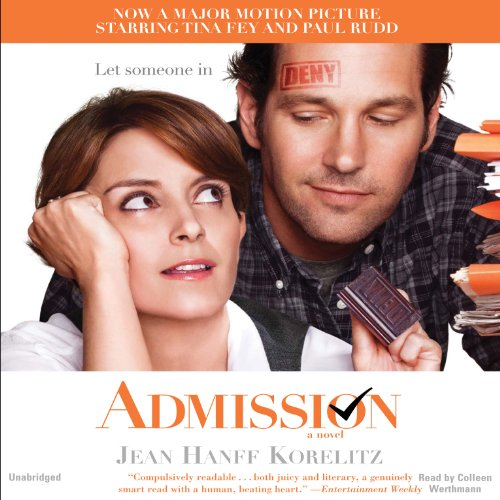 Admission audiobook cover art