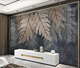 Kundenspezifische moderne nordische tropische Pflanze verlässt leichte Luxus-Aquarell handgemalte...