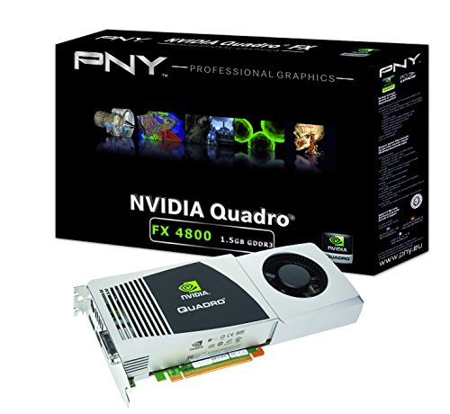PNY NVIDIA Quadro FX 4800 Grafikkarte PCI e 15 GB GDDR3 Speicher DVI Bulk