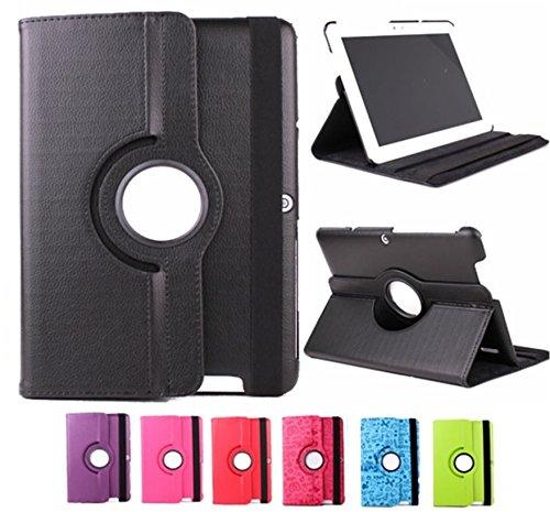 Funda para Tablet Bq Edison 3 10.1' Quad Core. Giratoria 360º Color Rosa Fucsia