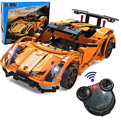 Gift for 10 Year Old Boys & Girls | Build Your Own RC Car Kit for Kids...