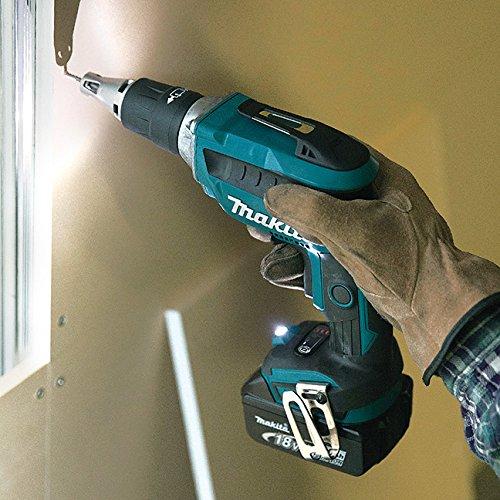 Makita Dfs452Z 18 V Li-Ion Brushless Cordless Drywall Screwdriver