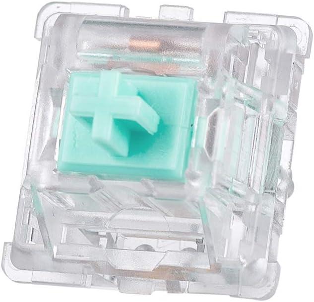 Durock L2 Clear Creamy Green switch