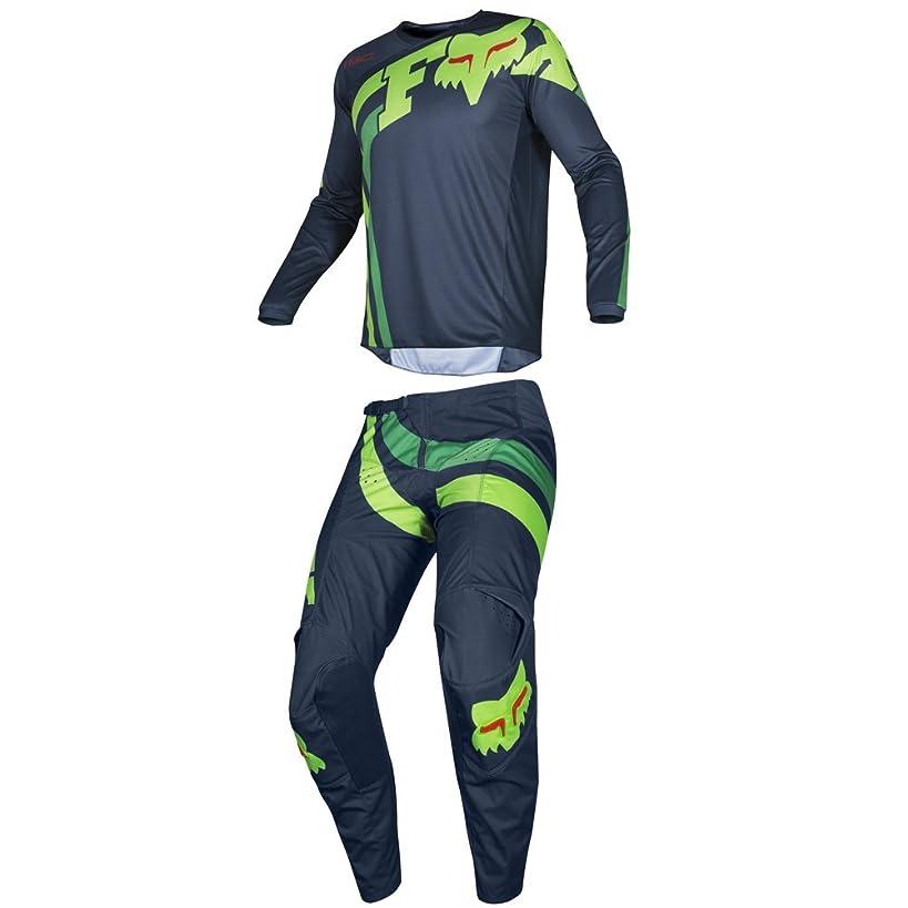 Fox Racing 2019 180 COTA Jersey and Pants Combo Offroad Gear Set Adult Mens Navy XL Jersey/Pants 36W