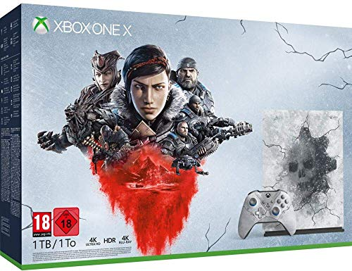 XBOX ONE X Console Edition Limitée - Gears 5 ultimate (Gears 5 Disc inclus)