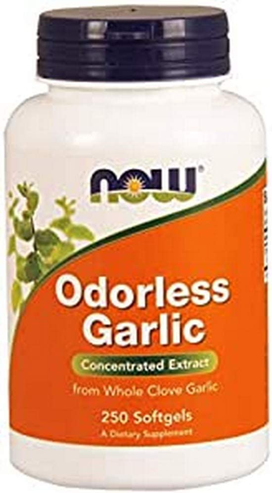 NOW Foods Odorless Garlic Softgels 250 Special price Ranking integrated 1st place -
