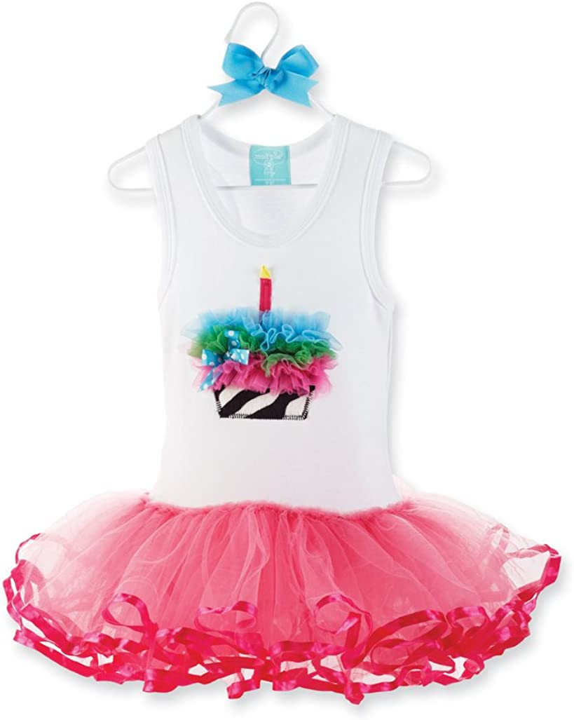 Mud Pie Wild Child Zebra Tutu Dress