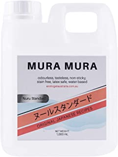 NURU Massage Standard Japanese Recipe 1000ml For Nuru Massage and Sensual Body Massage