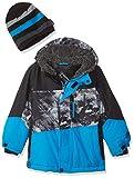 ZeroXposur Little Juvi Boys Magnus Snowboard Jacket, Azure, Small