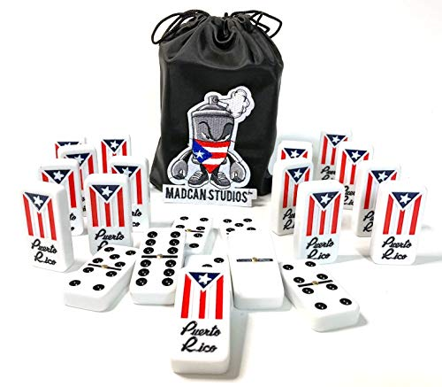 Puerto Rico Dominoes Domino de Puerto Rico Flag Value Pack