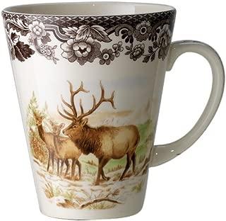 Spode Woodland American Wildlife Elk  Mug