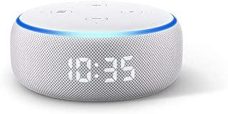 All-new Echo Dot (3rd Gen) - Smart speaker with clock + Alexa - Sandstone Fabric