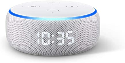 Echo Dot (3rd Gen) - Smart speaker with clock + Alexa - Sandstone Fabric