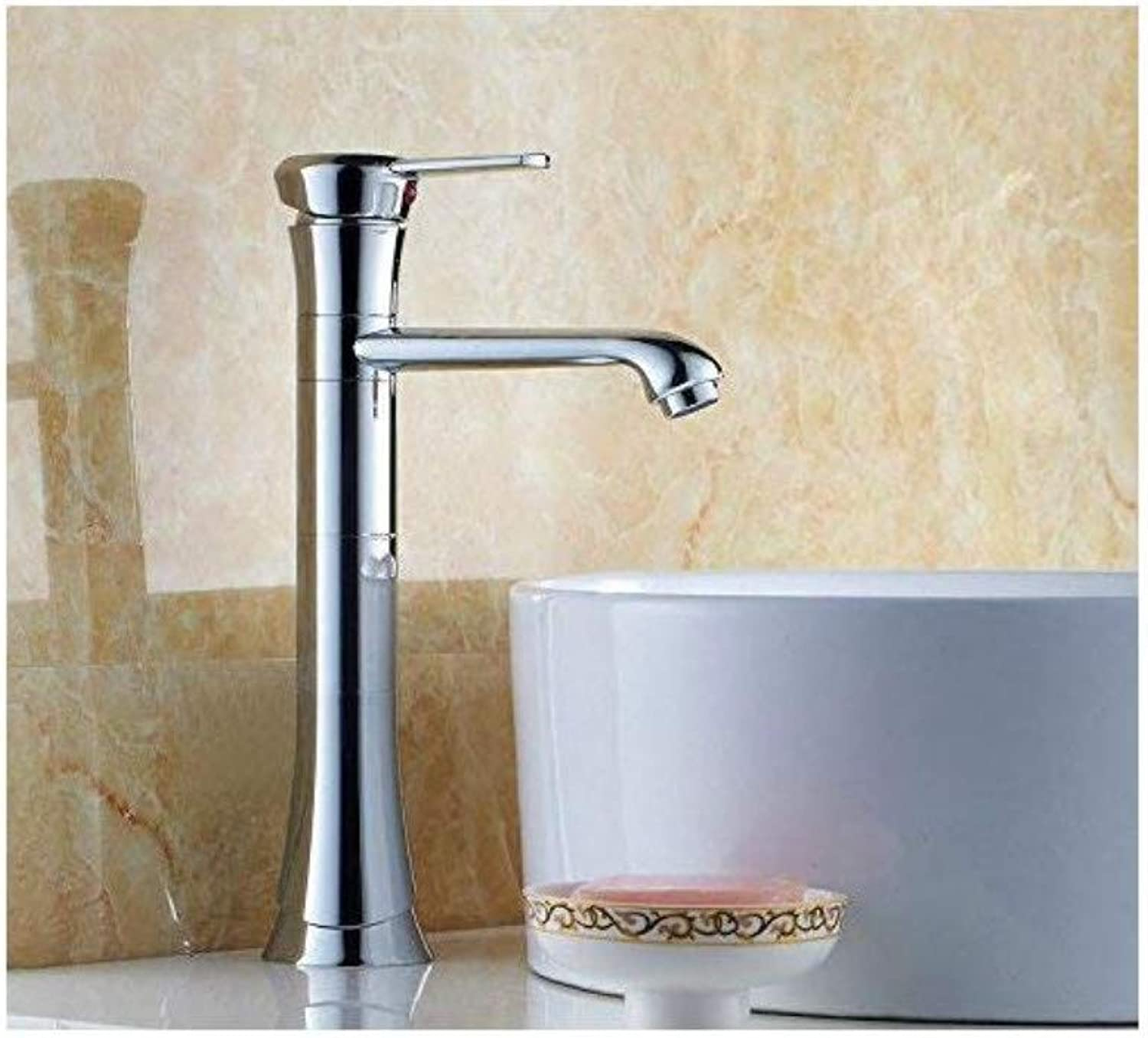 Retro Faucet Mixer Basin Faucet Washbasin All Copper Cold and Hot Water Tap
