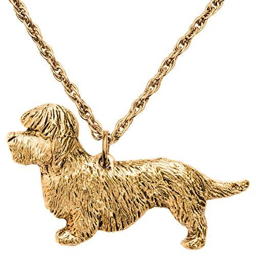 ダンディディンモントテリア イギリス製 アート ドッグ ペンダント ネックレス コレクション
