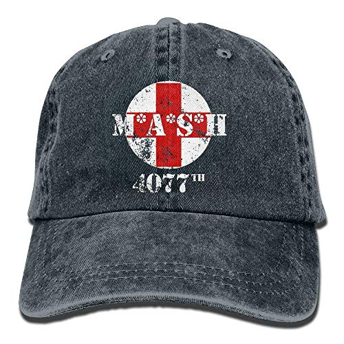 Voxpkrs MASH 4077th Unisex Baseball Cap Cowboy Hat Bill Snapback Hats ABCDE09540