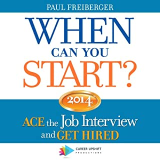 When Can You Start? 2014 cover art