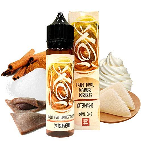 Koi - Yatsuhashi - Element E-Liquid | 50ML | Sin Nicotina: 0MG | 80VG/20PG | E-Liquido para Cigarrillos Electronicos | Vaper | E Cigarette | E Shisha