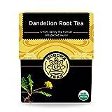 Organic Dandelion Root Tea – 18 Bleach-Free...