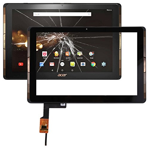 HMG Touch Panel with Frame for Acer Iconia Tab 10 / A3-A40 (Black) (Color : Black)